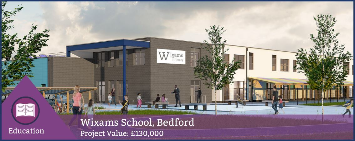 Wixams Tree Primary School - fenestration project