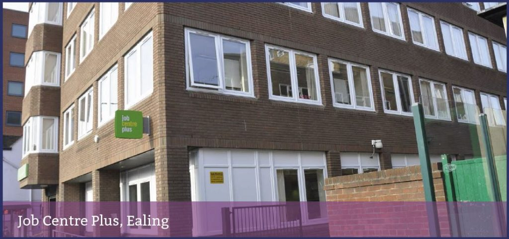 Find Jobcentre Plus - Ealing - Recruitment / Employment Services in Ealing W5 (London), W13 8RA - com UK Local Directory. Find the business you are looking for in your city. Got your Back!